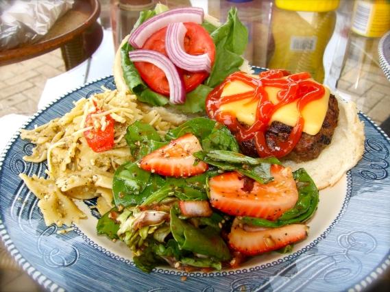 Garlic, Butter & Chive Cheeseburgers
