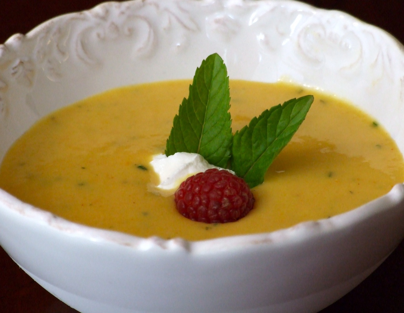 Chilled Summer Peach Soup | Someone Left The Cake Out In ...