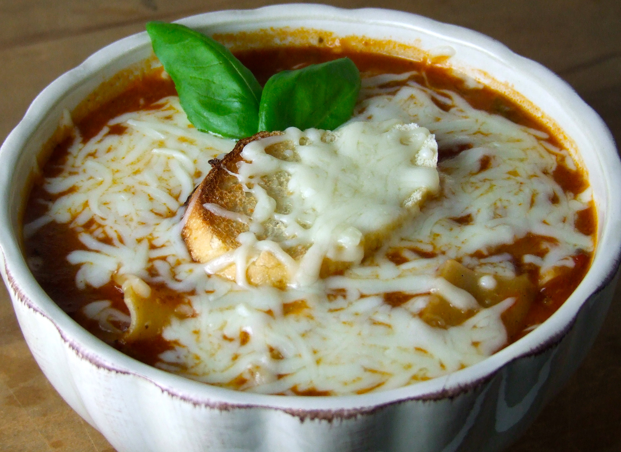 Soupy Sundays: Lasagna Soup | Someone Left The Cake Out In The Rain