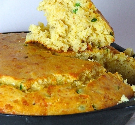 Jalapeño Cheddar Beer Cornbread | Someone Left The Cake Out In The ...