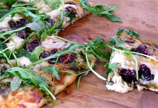 Argula Pesto Pizza