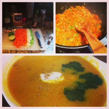 Gingered-Carrot Soup