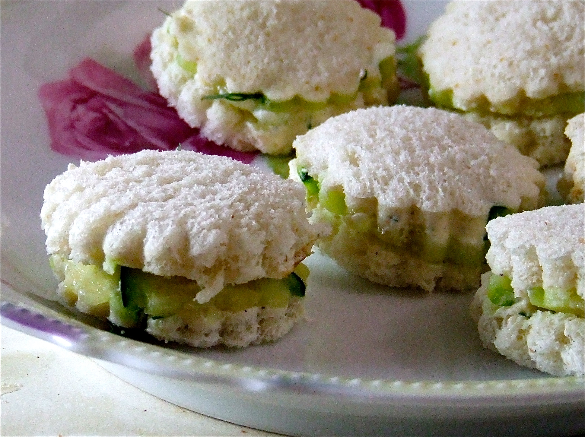 Cucumber Tea Sandwiches | Someone Left The Cake Out In The Rain