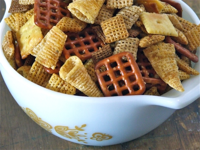 Duck Fat Chex Mix