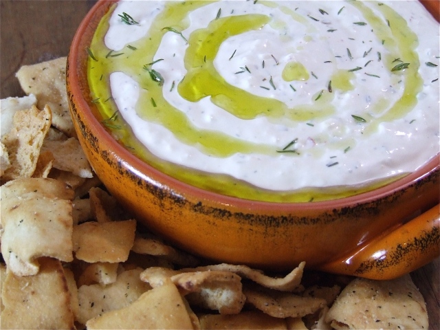 Creamy Lemony Feta Dip