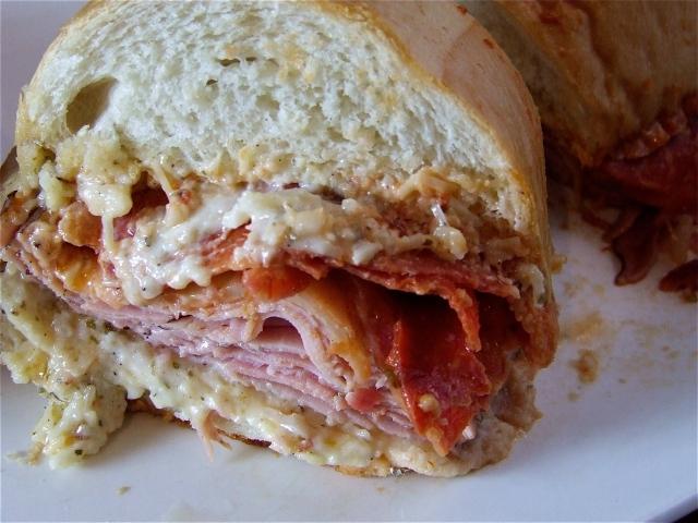 Meat-atarian Sub