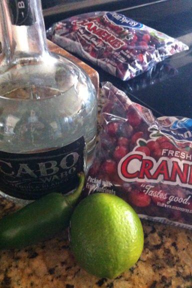 Tequila Lime Cranberry Sauce