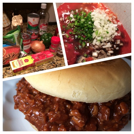 Vegatarian Crock-Pot Sloppy Joes